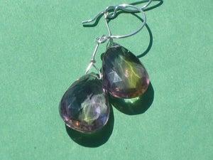 Image of Purple Sparkle Earrings