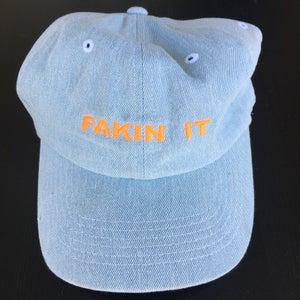 Image of Fakin It Hat - Blue Denim