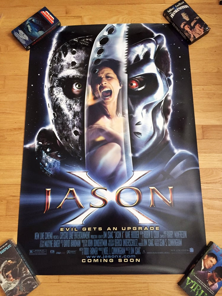 Image of 2001 JASON X Original U.S. One Sheet Movie Poster