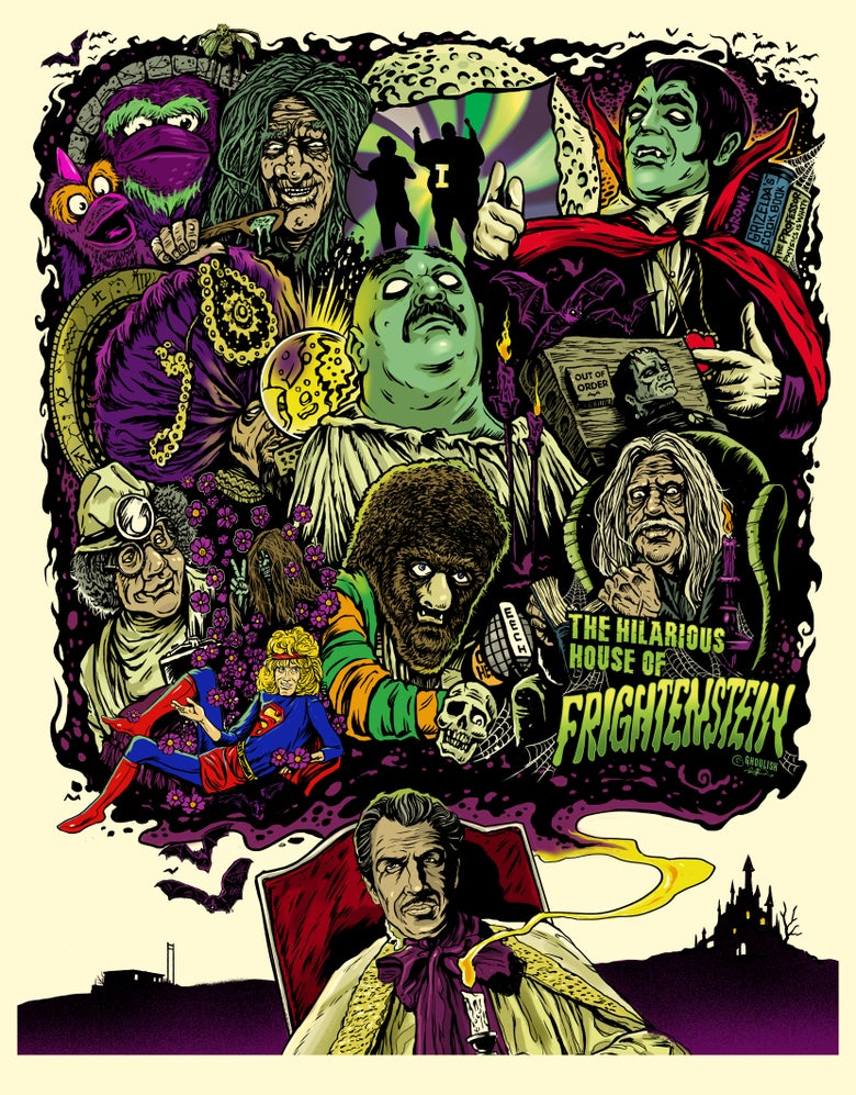 Image of The Hilarious House of Frightenstein