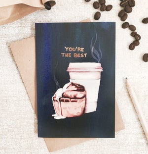 Image of You're the Best - Greeting card