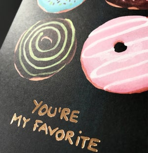 Image of You're my Favorite - Greeting card