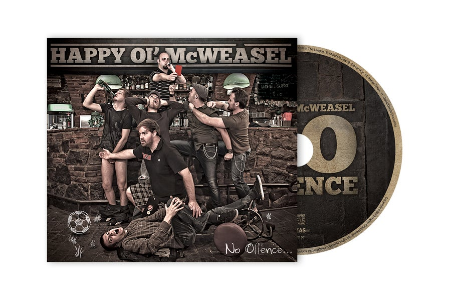 Image of HAPPY OL' McWEASEL - No Offence CD (2012)