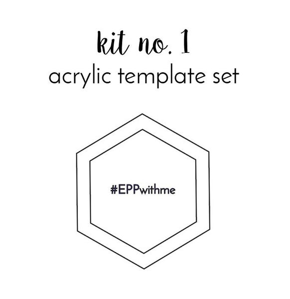 Image of kit no. 1 Acrylic Template