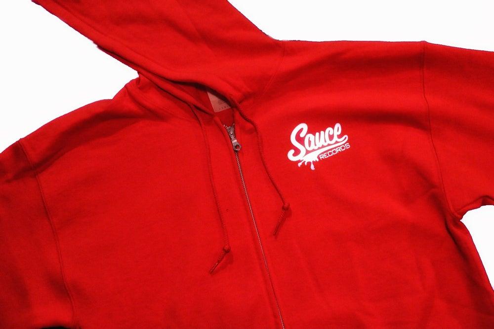 Image of Sauce classic zip-up Hoodie