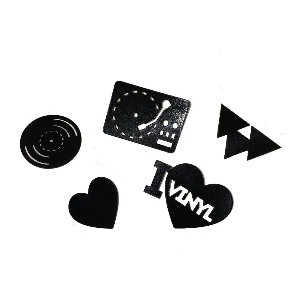 Image of Record Love Pins ( 5 designs and only 25 of each) Limited Time Release