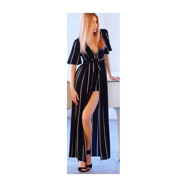 Image of Mya Stripe Romper
