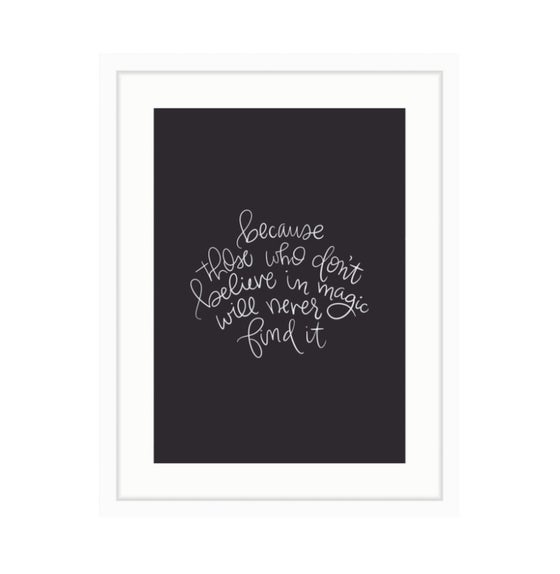 Image of Roald Dahl Print 2 // Black & White