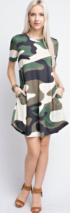 Image of Cam Shirt Dress