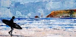 Image of Winter seas and salty air, Polzeath, Cornwall