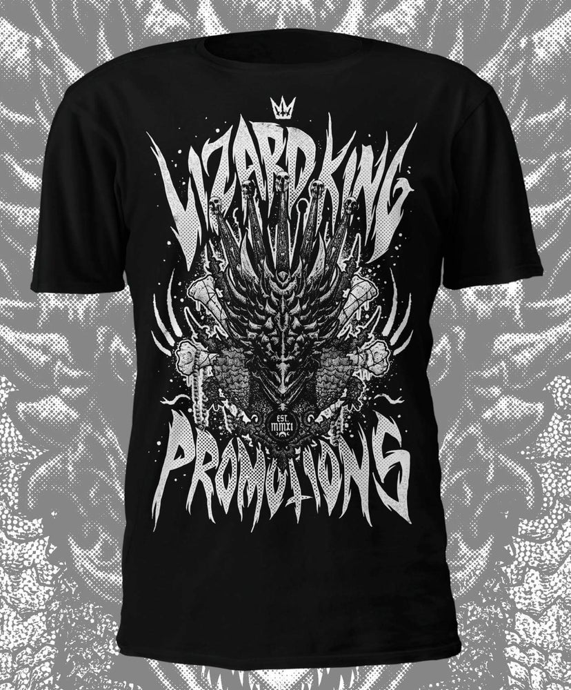Image of Lizard King Official 'Black & White' T Shirt