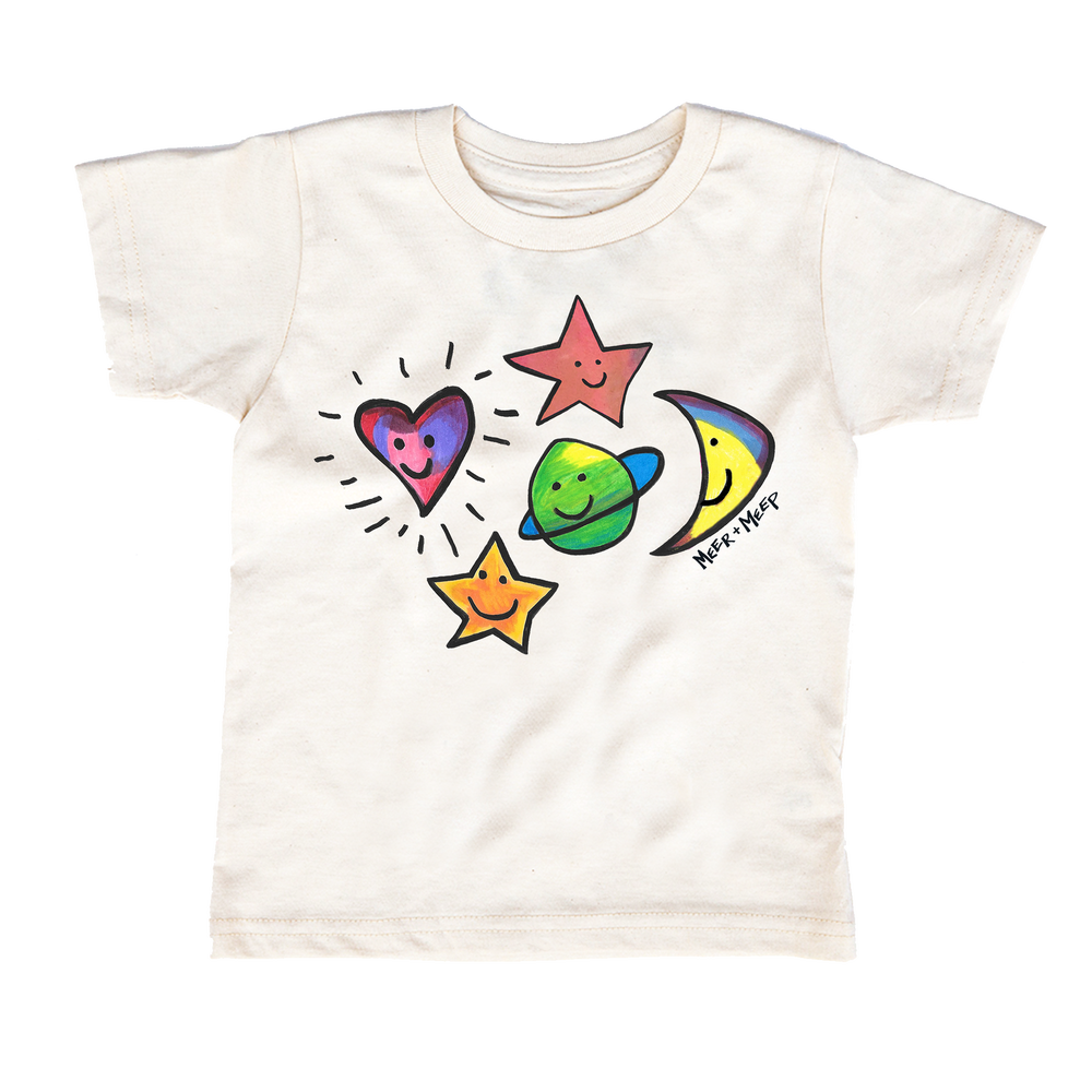 Image of HAPPY GALAXY TEE