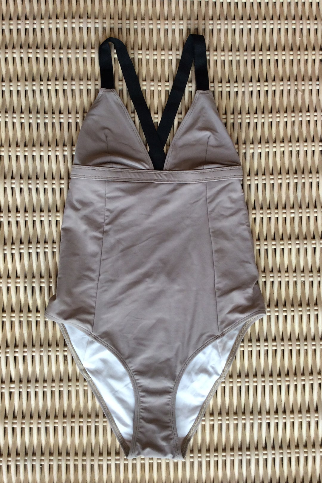 Image of JASMIN SWIMSUIT - KHAKI
