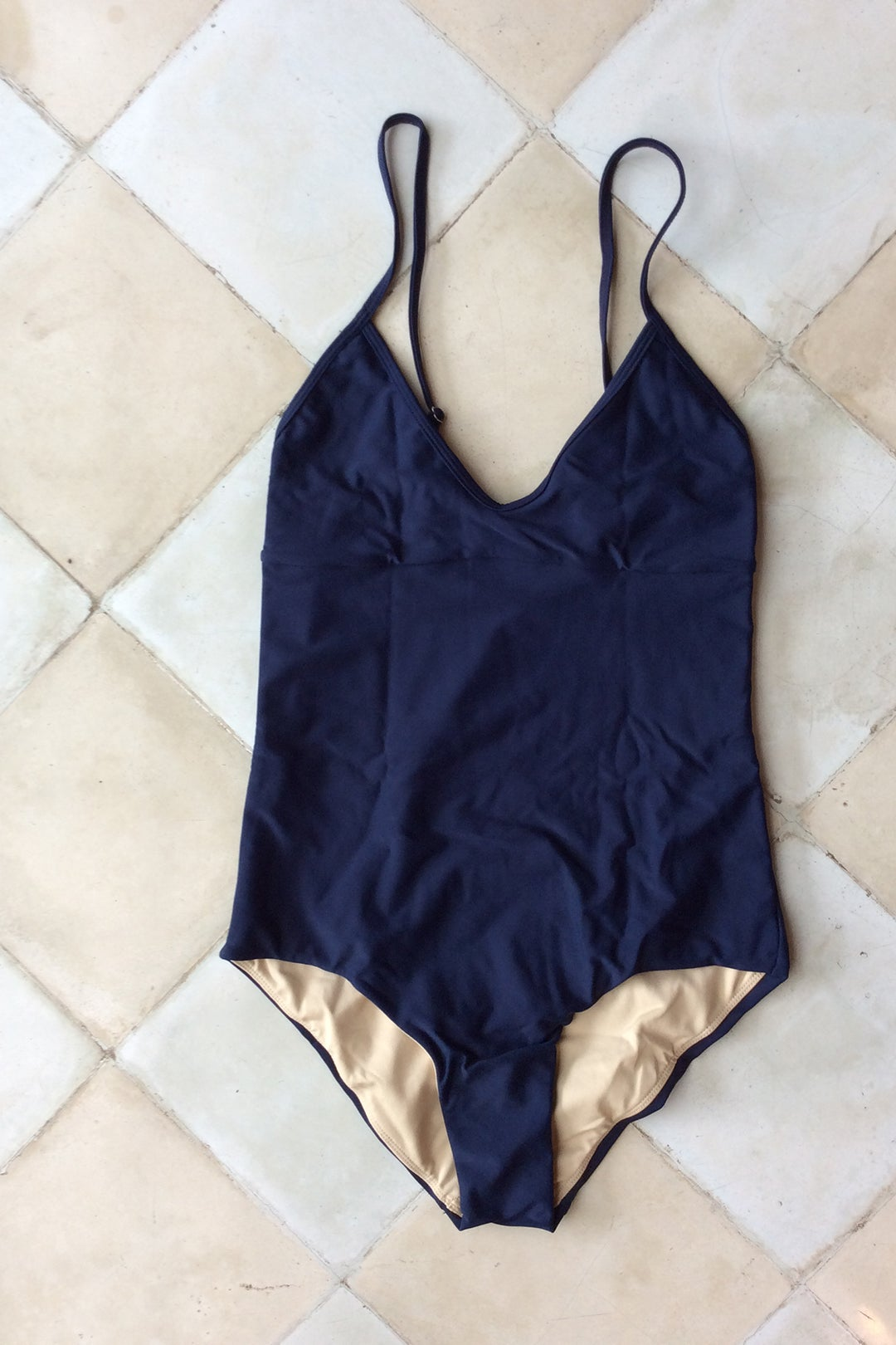 Image of CLEO SWIMSUIT - NAVY