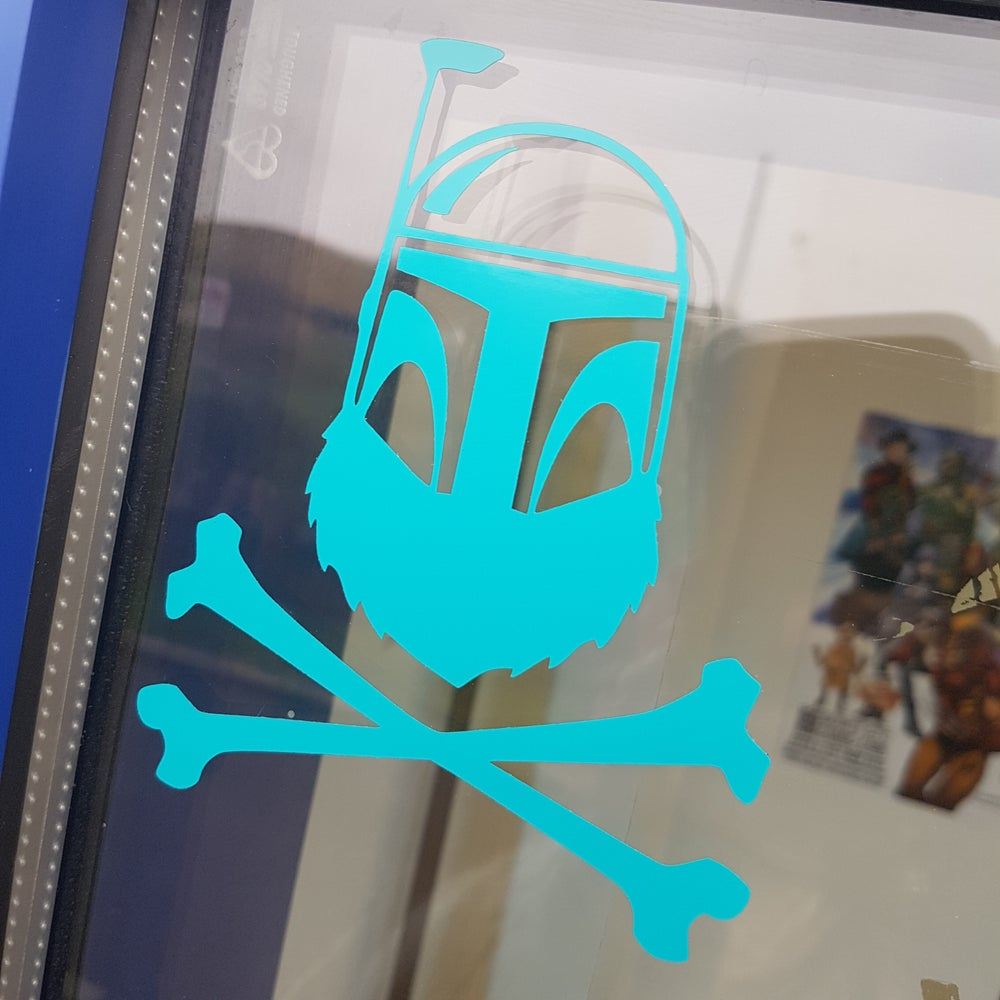 Image of Team Beard - Boba Beard Sticker