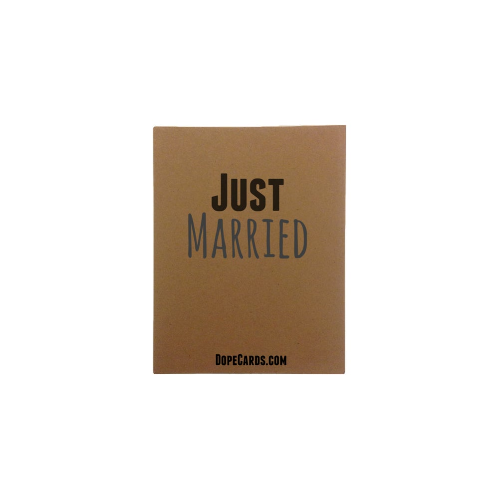 Image of Just Married  (6 cards)
