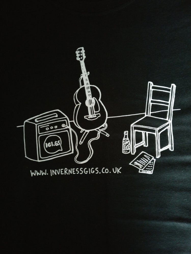 Image of Inverness Gigs T-shirt (New Design)