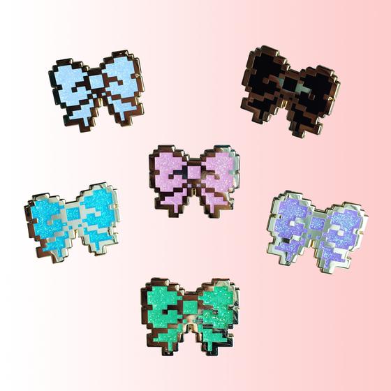 Image of 8bit Glitter Bows
