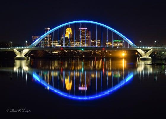 Image of Lowry Bridge in Minneapolis