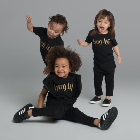 """Image of """"Hug Life"""" Black T-Shirt"""