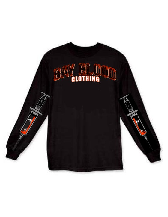Image of Giants Blood Long Sleeve (black)