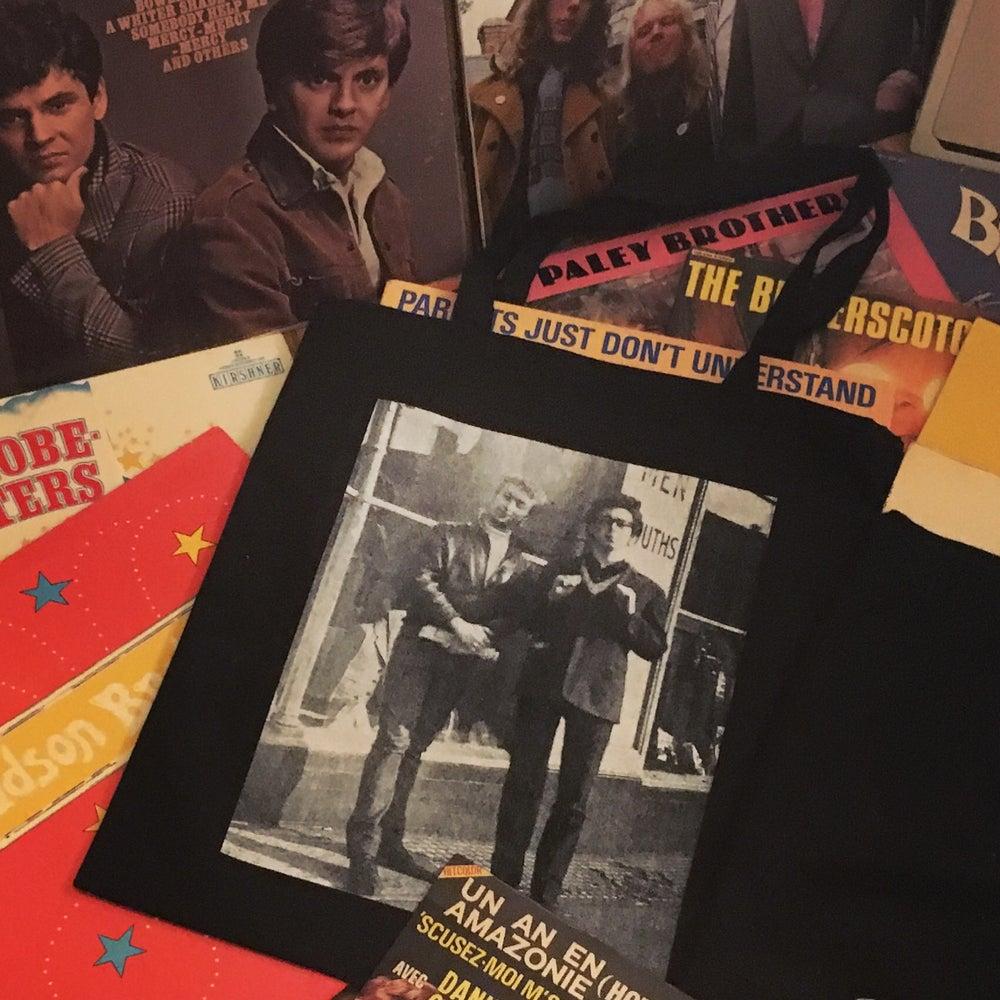 Image of John and Paul 1961 tote bag