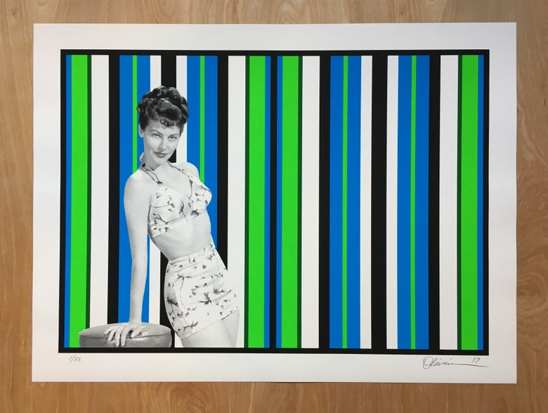 """Image of """"Beach Club"""" - First Edition, silk screen prints (free shipping)"""