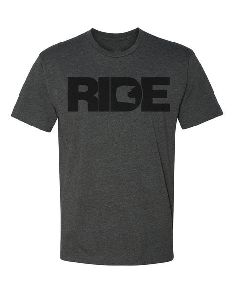 "Image of ""Ride"" T-Shirt in Charcoal"