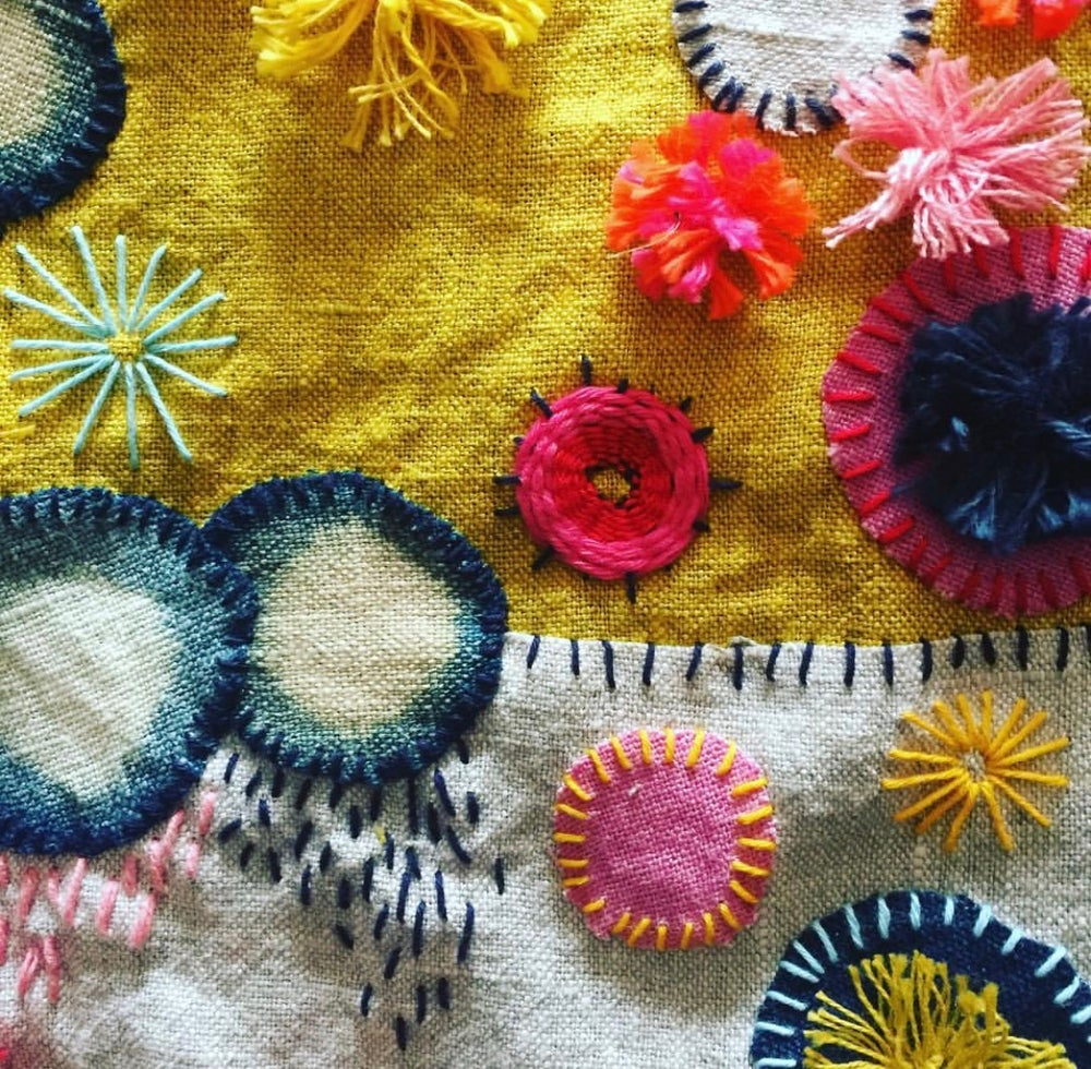 Image of CREATIVE STITCHING WORKSHOP - SAT 24th FEB 2PM TO 5PM