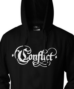 Image of CONFLICT 'Old Logo' Hoodie