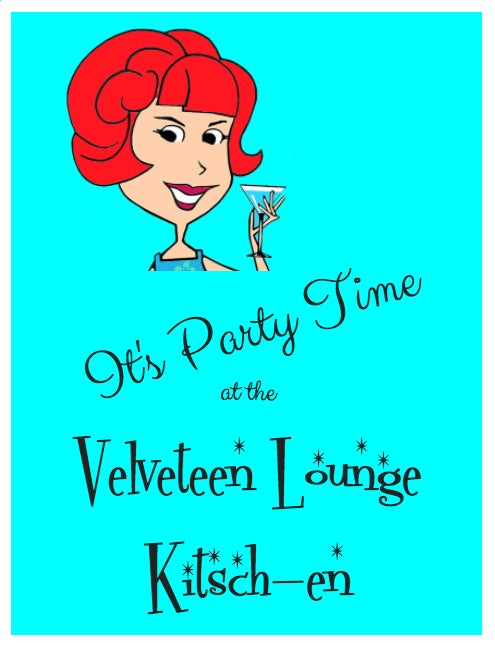 Image of It's Party Time at the Velveteen Lounge Kitsch-en Ebook