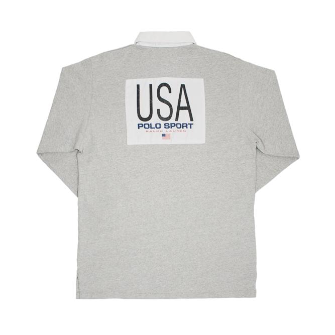 Image of Polo Sport Ralph Lauren Rugby Shirt USA K-Swiss