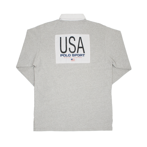 Image of Polo Sport Ralph Lauren Rugby Shirt USA K-Swiss