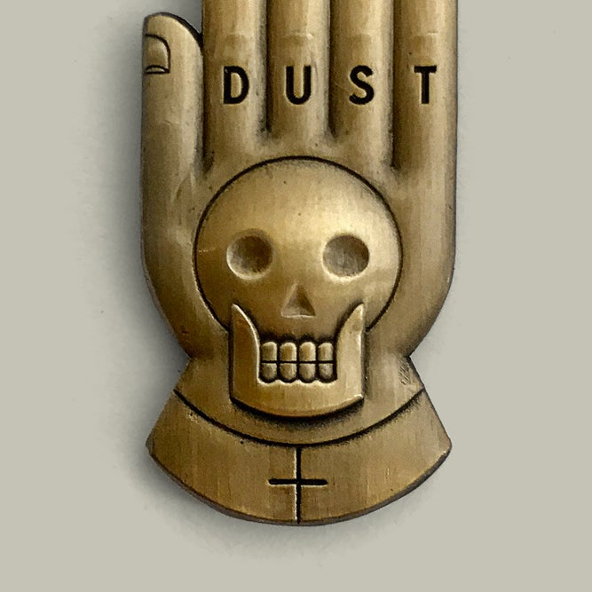 Image of Sculpted Brass Dust
