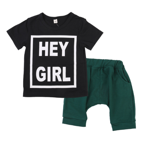 Image of Hey Girl Hey Short Set