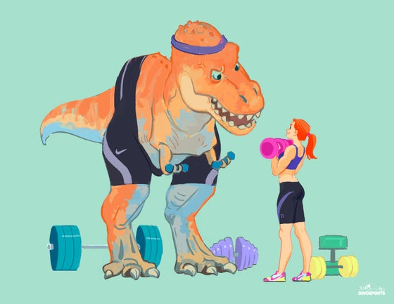 Image of DINO WORKOUT SERISE