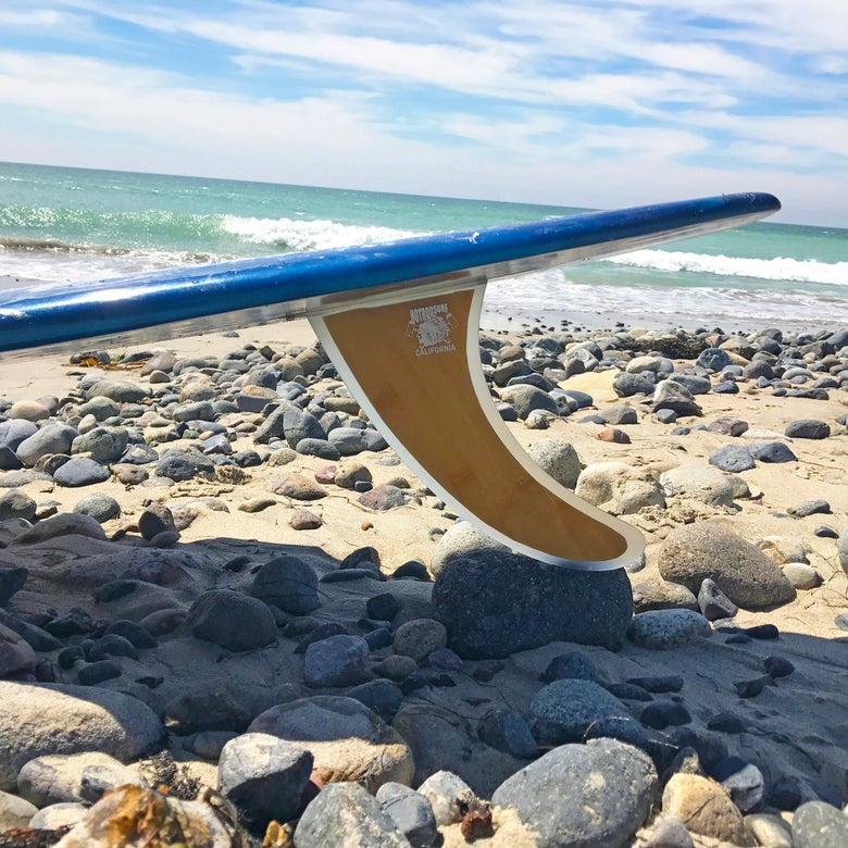 Image of Woody Series - Longboard Surfboard Fin