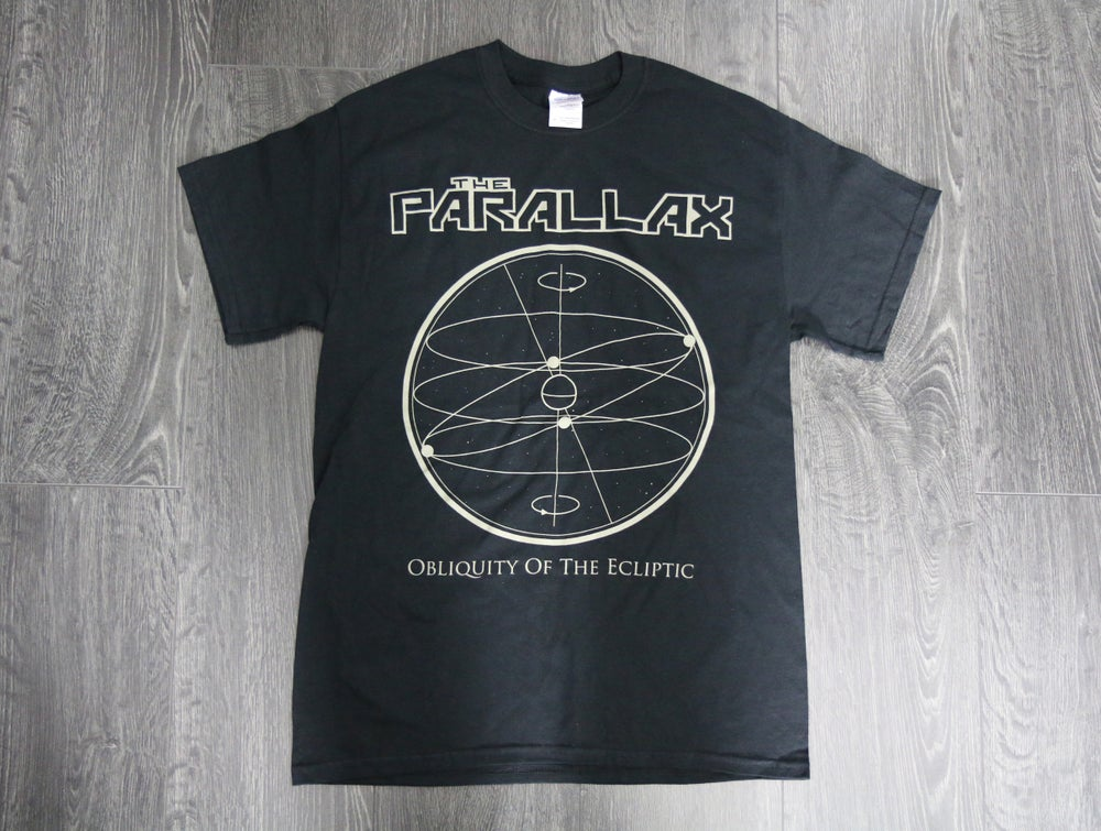 Image of 'Obliquity of the Ecliptic' Tee - Black