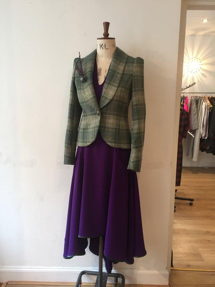 Image of Tweed Bustle Show jacket