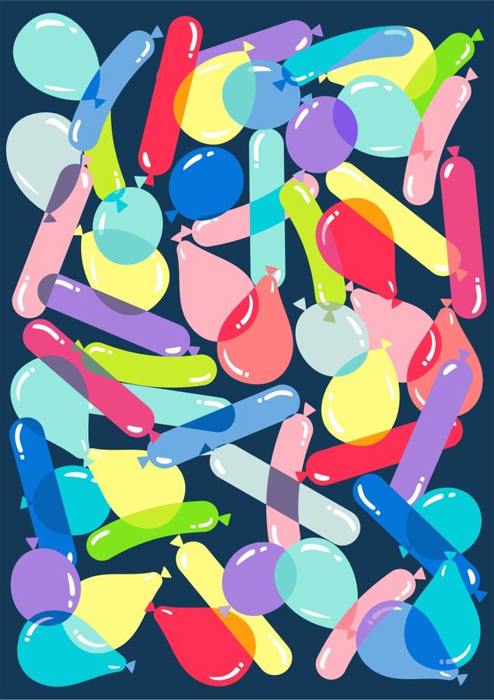 Image of BALLOONS!! Giclee Print