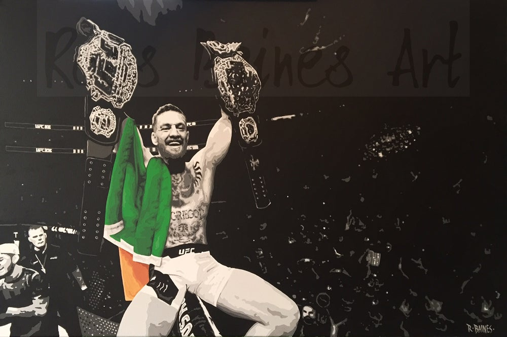 Image of 'DOUBLE CHAMP 2' (A3 art print