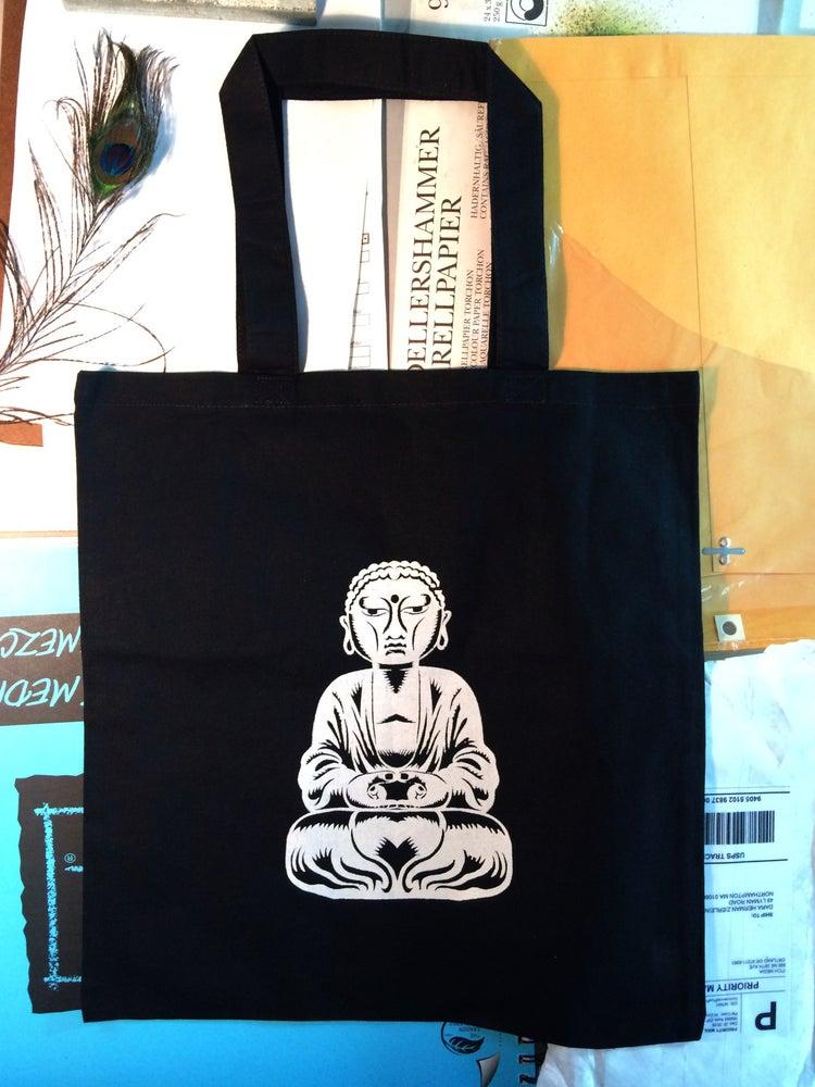 """Image of Tote Bag """"Buddha Balanced"""""""
