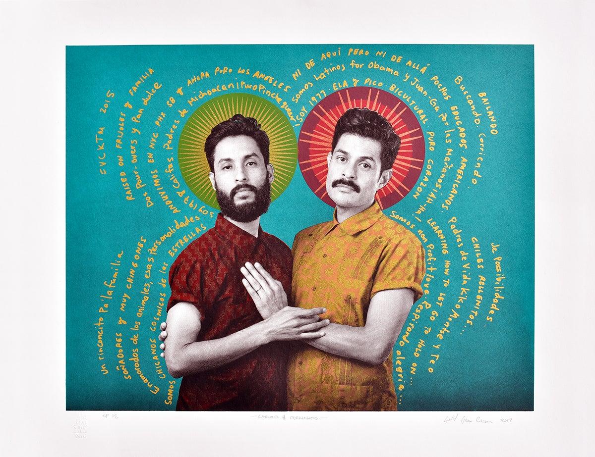 Image of Carlos & Fernando, Serigraph