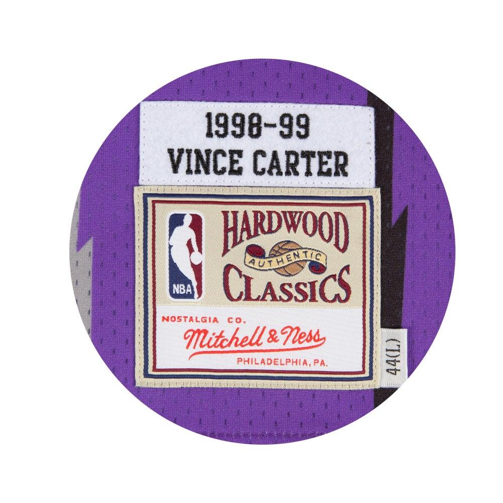 Image of New Vince Carter 1998-99 Authentic Jersey Toronto Raptors Purple