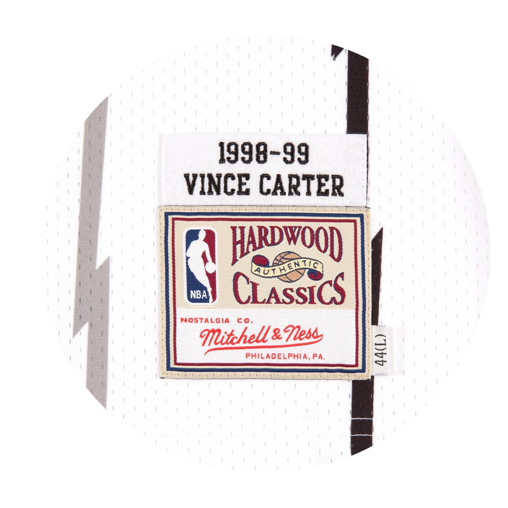 Image of Vince Carter 1998-99 Authentic Jersey Toronto Raptors White