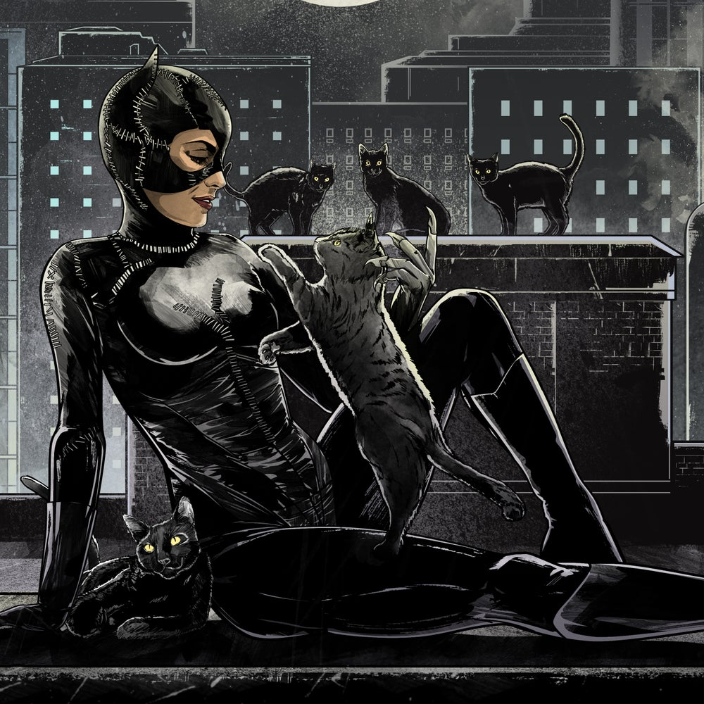 """Image of """"Nine"""" - Inspired by Catwoman"""
