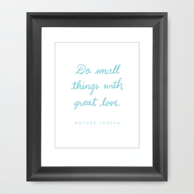 Mother Teresa - Small Things - HOUSE15143