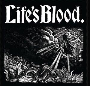 "Image of LIFE'S BLOOD ""HARDCORE A.D. 1988"" LP"