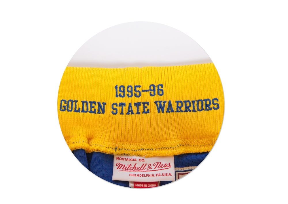 Image of 1995-96 Authentic Shorts Golden State Warriors