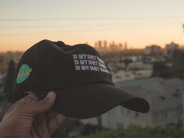 Image of Is My Shit Tight? World Hats II (BLACK)